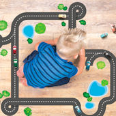 Wall Play Autobahn Road Wall Decals