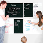 Family Command Center Challkboard Dry Erase Decals