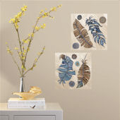 Flowers Peel and Stick Color Your Decal