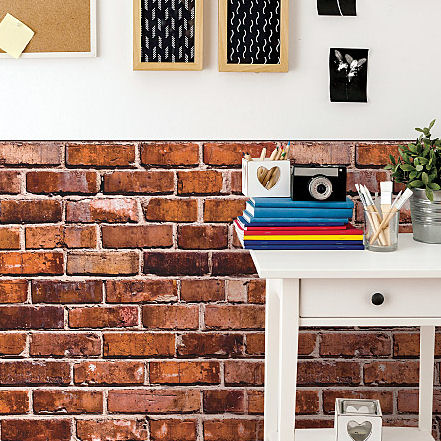 Brick Wall Vinyl Wall Decals - Wall Sticker Outlet
