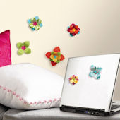 3D Flower Wall Decals SALE