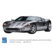 2006 Ford GT Peel and Stick Wall Mural