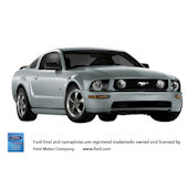 2007 Ford Mustang GT Peel and Stick Wall Mural