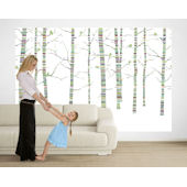 Calypso Forest Bright Pre Pasted Large Mural