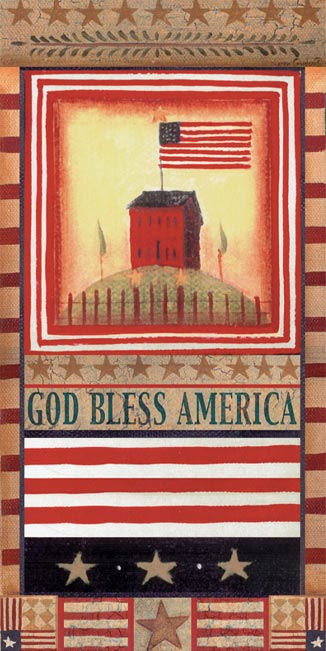American Flag Peel and Stick Wall Mural - Wall Sticker Outlet