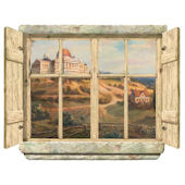 Capitol Window Peel and Stick Wall Mural