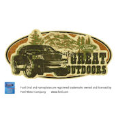 Ford Great Outdoors Peel and Stick Wall Mural