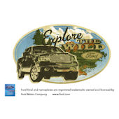 Ford Explore the Wild Peel and Stick Wall Mural