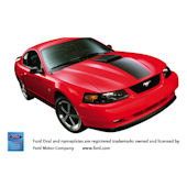 Ford Mustang Mach 1 Peel and Stick Wall Mural