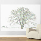 Calypso Tree Bright Easy Up Wall Mural