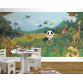 Jungle Easy Up Wall  Mural