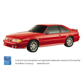 1993 Ford Mustang Cobra Peel and Stick Wall Mural