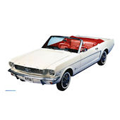1964 Ford Mustang Peel and Stick Wall Mural