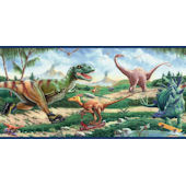 Dinosaurs on Wheels Border