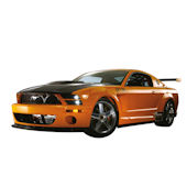 Ford Mustang GT R Concept Peel Stick Wall Mural