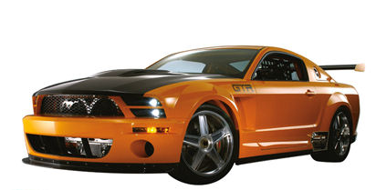 Ford Mustang GT R Concept Peel Stick Wall Mural - Kids Wall Decor Store