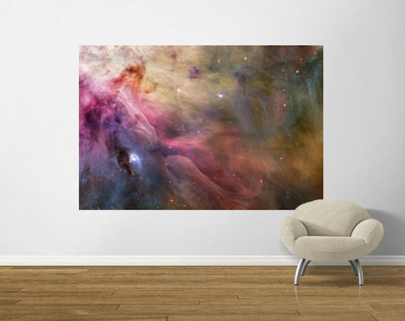 Nebula Pre Pasted Mural - Wall Sticker Outlet