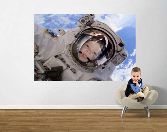 You are an astronaut easy up mural for Astronaut wall mural