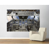Shuttle Cockpit Easy Up Mural