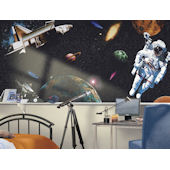 Space Exploration Bliss Mural
