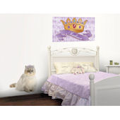 Princess Kitty Peel and Stick Mural