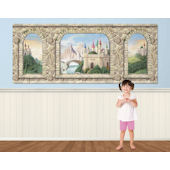 Enchanted Castle Easy Up Mural