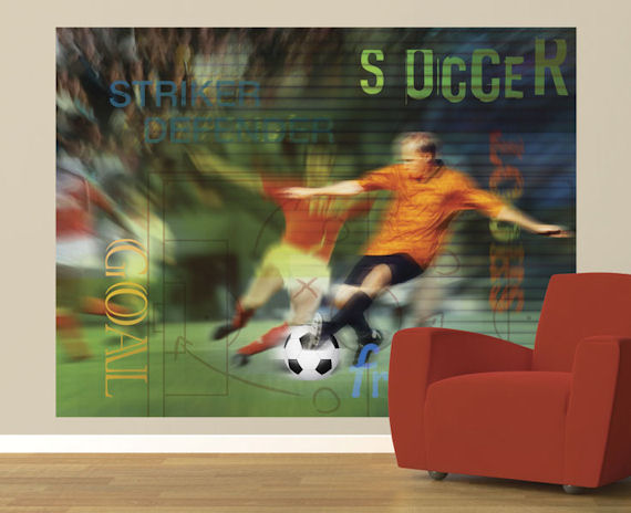 pin soccer wall murals and wallpaper on pinterest soccer goal football wall mural photo wallpaper 015dk ebay