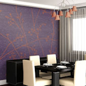 Great Vine Tella Mural Concord Grape