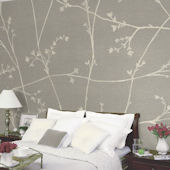 Great Vine Tella Mural Moonflower
