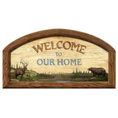 Welcome to Our Home Peel and Stick Wall Mural
