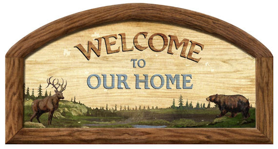 Welcome To Our Home Peel And Stick Wall Mural Kids Wall
