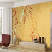 Willow Wisp Tella Mural Goldenrod