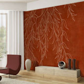 Willow Wisp Tella Mural Japanese Maple