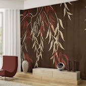 Willow Wisp Tella Mural Woodrush