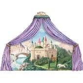 Castle Canopy Princess Mural
