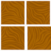 Orange Animal Print Kidifexs Wall Stickers