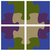 Puzzle Pieces Kidifexs Wall Stickers