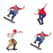 Skateboarding Kidifexs Wall Stickers