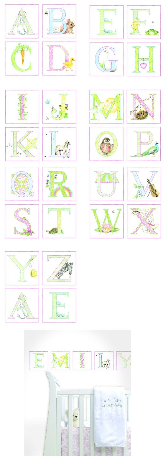 Pastel ABC Kidifexs Peel and Stick Wall Stickers - Wall Sticker Outlet