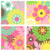 hawaiian Flowers Kidifexs Wall Stickers