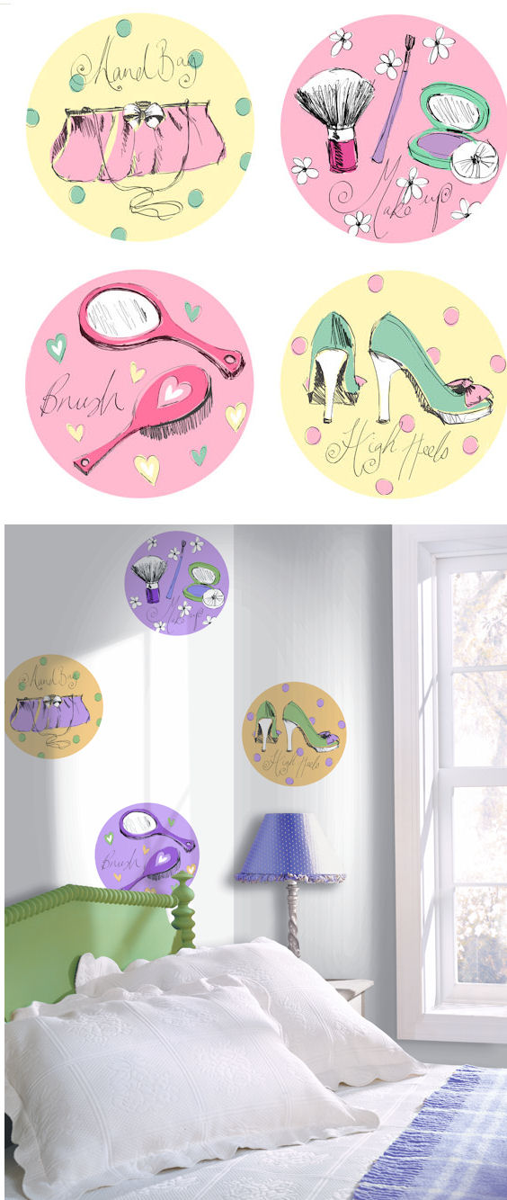 Beauty Kidifexs Wall Stickers - Wall Sticker Outlet