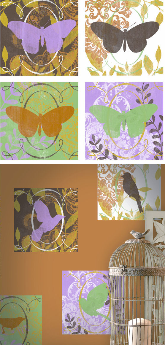 Butterflies Kidifexs Wall Stickers - Wall Sticker Outlet