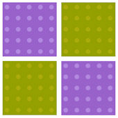 Pink Green Polka Dots Kidifexs Wall Stickers