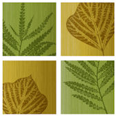 Fern Leaves Decorifex Peel and Stick Wall Sticker