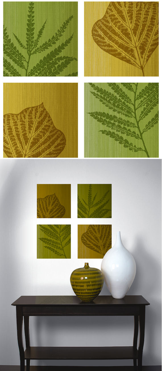 Fern Leaves Decorifex Peel and Stick Wall Sticker - Wall Sticker Outlet