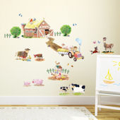 Decowall Pony Club and Farm Wall Decals