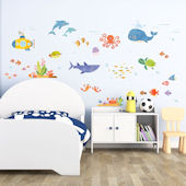 Decowall Sea Adventure Wall Decals