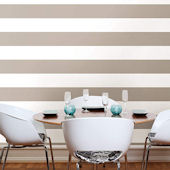 NuWallpaper Pebble Stripe Peel Stick Wallpaper