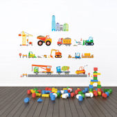 Decowall Construction Site Wall Decals