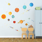 Decowall The Solar System Wall Decals